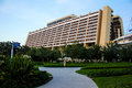 Disney's Contemporary Resort, Orlando, Florida. Royalty Free Stock Photo