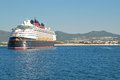 The Disney Wonder at Cabo San Lucas, Mexico Royalty Free Stock Image