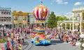 Disney world Magic Kingdom Parade Mickey and Minie Mouse