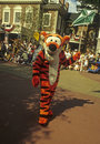Disney World Magic Kingdom Parade- Tigger Royalty Free Stock Images