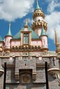 Disneyland castle Stock Image