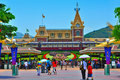 Disneyland hong kong Royalty Free Stock Photo