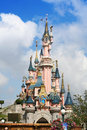 Disneyland Main Castle Stock Photography