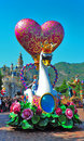 Disneyland parade Royalty Free Stock Images