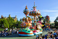 Disneyland parade Royalty Free Stock Photo