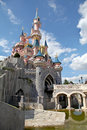 Disneyland Paris Castle Royalty Free Stock Photo