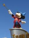 Disneyland paris europe s top destination features two theme parks park and walt disney studios park Stock Photo