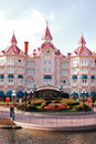 Disneyland paris park Royaltyfria Bilder