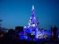 DISNEYLAND PARIS Princess Castle by night