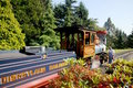Disneyland Paris - railroad a replica Royalty Free Stock Photo