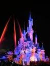 Disneyland paris show europe s top destination features two theme parks park and walt disney studios park disney village Royalty Free Stock Image
