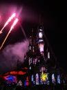 Disneyland paris show europe s top destination features two theme parks park and walt disney studios park disney village Stock Image