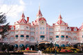 Disneyland park Paris Obraz Royalty Free