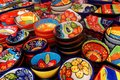 Display Of Colorful Dishes In ...