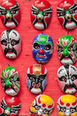 Display of masks Stock Image