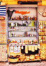 11.9.2016 - The display of a souvenir shop in the Old Town of Chania Royalty Free Stock Photo