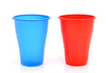 Disposable glasses Royalty Free Stock Photo