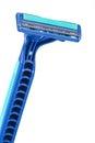 Disposable shaving razor on white background Royalty Free Stock Photo