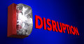 Disruption Fire Alarm Pause Stop Break Interruption Royalty Free Stock Photo