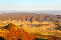 The distant mountains in autumn image taken china s jilin province jilin city lafa mountain scenic spot seen from mountain Stock Photos