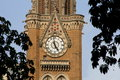 Distant view of a clock tower Royalty Free Stock Photo