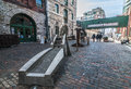 Distillery district - Toronto Canada Royalty Free Stock Photo