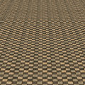Distorted brown checkered background abstract pattern of color Royalty Free Stock Image