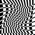 Distorted Chequered Checkered ...