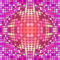 Distorted circles abstract colorful dotted circular texture background Royalty Free Stock Photography