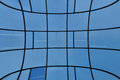 Distorted glass facade Royalty Free Stock Photography