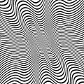Distorted lines vector background eps illustration of Royalty Free Stock Photography
