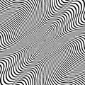 Distorted lines vector background eps illustration of Stock Image