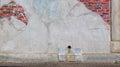 Distressed Brick Wall Background