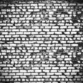 Distressed Brick Wall In The C...