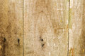 Distressed old wood plank boards background antique barn with nails Stock Photos