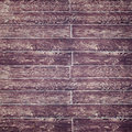 Distressed Purple Wood Fence with Script Royalty Free Stock Photo