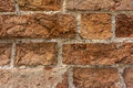 Distressed Wall With Broken Bricks Texture Royalty Free Stock Photo
