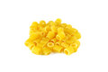 Ditalini, italian raw pasta Royalty Free Stock Images