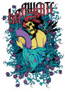 Diva de los muertos vector illustration ideal for printing on apparel clothing Stock Images