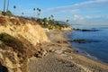 Divers Cove Beach and Heisler Park, Laguna Beach, California Royalty Free Stock Photo