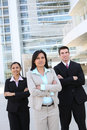 Diverse Attractive Business Team Royalty Free Stock Image