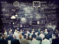 Diverse Business People Learning About Social Media Royalty Free Stock Photo