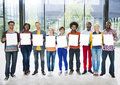Diverse Diversity Ethnic Ethnicity Variation Team Unity Concept Royalty Free Stock Photo
