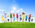 Diverse diversity ethnic ethnicity variation unity togetherness concept Stock Images