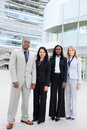 Diverse Ethnic Business Team Royalty Free Stock Images