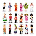 Diverse ethnic group of kids of different nationalities and countries Royalty Free Stock Photo