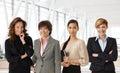 Diverse Group Of Businesswomen...