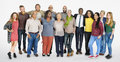 Diverse Group of People Community Togetherness Concept Royalty Free Stock Photo