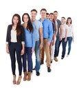 Diverse Group Of People Standi...