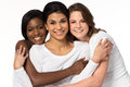 Diverse group of women smiling Royalty Free Stock Photo